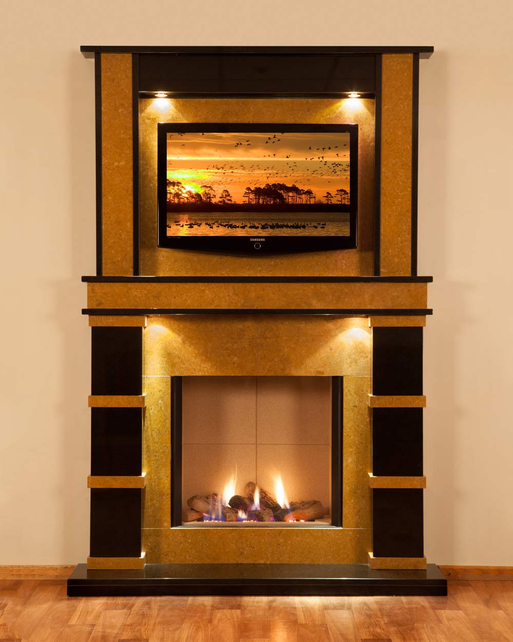 unique-design-En-Vogue-fireplace-surround